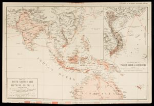 [TELEGRAPH; QUEENSLAND] Map of south-eastern Asia and Northern AustraliaTHE GRAPHIC.# 14280