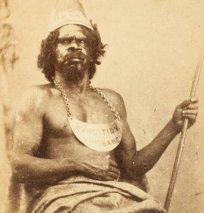 Photographic portrait of King Tidy, Brisbane, circa 1868