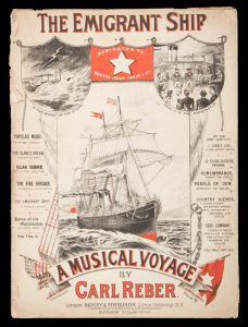[SHEET MUSIC] The emigrant ship : a musical voyage
