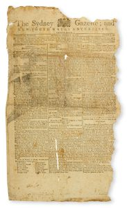 Sydney Gazette and New South Wales Advertiser. Volume Eight, number 320, February 17, 1810HOWE, George (1769-1821)# 13385