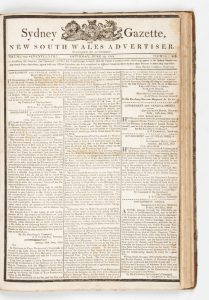 Sydney Gazette and New South Wales Advertiser (Volume XVII, 1819, virtually complete)