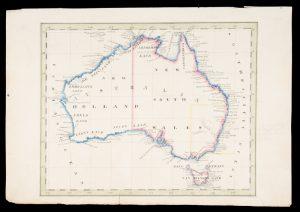 Manuscript map of Australia, circa 1840Anon.# 13905
