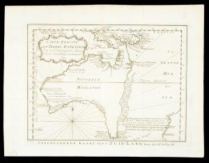 Carte reduite des terres AustralesBELLIN, Jacques Nicholas# 13755