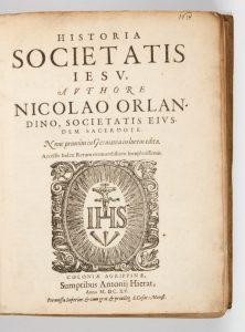 Historia Societatis Iesv,Orlandini, Nicolo, 1553-1606; Sacchini, Francesco, 1570-1625# 13318