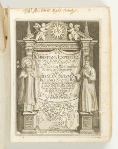 De Christiana expeditione apud Sinas suscepta ab Societate Jesu. Ex M. Ricij ... Com̄entariis libri 5Matteo Ricci, S.J., 1552-1610; Nicolas Trigault (translator), 1577-1628# 13351