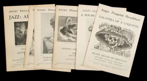 Angry Penguins Broadsheet : a complete set of ten issues