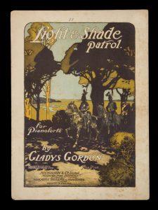 [SHEET MUSIC] Light & shade patrol : for pianoforteGORDON, Gladys# 14498