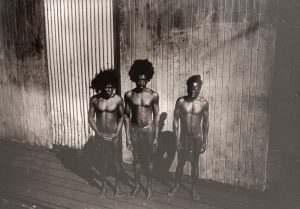 Photographic portraits of native men, Admiralty Islands, Bismarck Archipelago, circa 1910