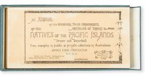 Ethnographical album of the Pacific Islands. Third seriesEDGE-PARTINGTON, James (1854-1930)# 12250