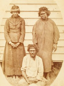 Queensland Aboriginals. Photographed direct from life by E.H. Forster at his studio, Maryborough