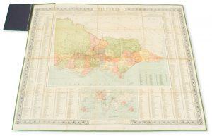 Collins' map of VictoriaBATHOLOMEW, John# 13692