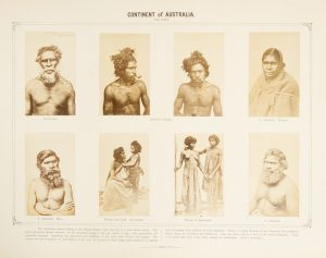 [ABORIGINES] Ethnological photographic gallery of the various races of men