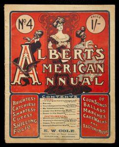 [SHEET MUSIC] Albert's American annual. No. 4ALBERT'S MUSIC STORE# 13239