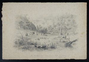 On the Barwon near Fryer's [sic] Ford, Geelong