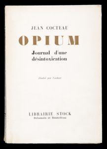 Opium : Journal d'une désintoxication (de-luxe first edition)COCTEAU, Jean# 12831