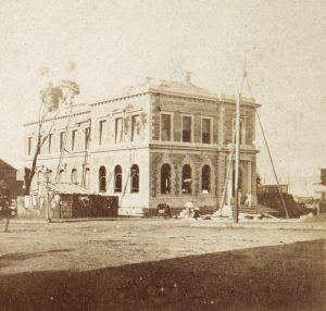 The Museum, Hobart, in course of construction