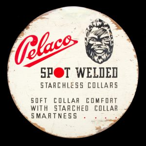 Pelaco : spot welded starchless collars : soft collar comfort with starched collar smartness