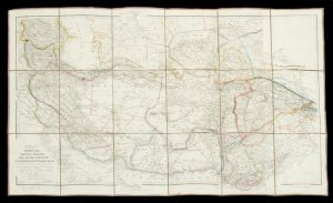 [MAP] Central Asia; comprising Bokhara, Cabool, Persia, The River Indus, & Countries Eastward Of It.ARROWSMITH, John; BURNES, Lieut. Alexander# 1232
