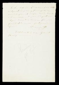 [DUMONT D'URVILLE] Vincendon-Dumoulin : autograph letter signed, to Casimir Gide, circa 1842VINCENDON-DUMOULIN, Clément Adrien (1811-1858)# 12253