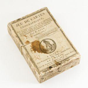 Sixième jeu de cartes géographiques,JOUY, Victor-Joseph Etienne de# 12007