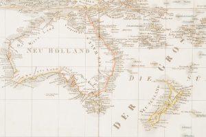 [MAP] AustralienWEILAND, Carl Ferdinand (1782-1847)# 12046