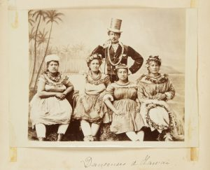 Group of eleven photographs of Hawaii, 1870-1883