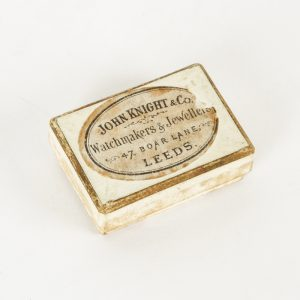 A mid-Victorian miniature jewellery or keepsake box