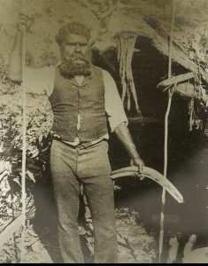Aborigine at Lake Tyers, Gippsland, VictoriaCAIRE, Nicholas John (1837-1918)# 11405