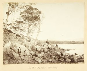 In Port Esperance, Tasmania
