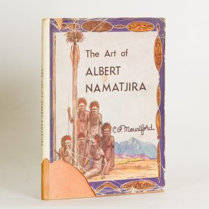 The art of Albert Namatjira (signed with a drawing)