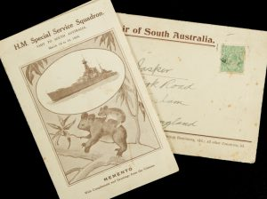 H.M. Special Service Squadron. Visit to South Australia, March 10 to 15, 1924 : memento