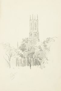 A collection of pencil sketches by the artist Victor Cobb, 1917-1945