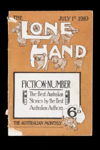The Lone Hand : the National Australian monthly magazine. Vol. VII, No. 39, July 1st, 1910LINDSAY, Norman; LINDSAY, Lionel; HILDER, J.J; et al.# 14487