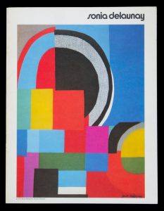 Sonia Delaunay. Peintures, gouaches, lithographies, tapisseries.DELAUNAY, Sonia (1884 - 1979)# 14064