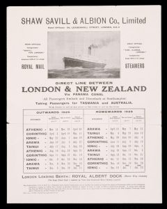 [Cruise] Direct Line Between London & New Zealand via Panama Canal