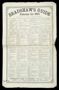 Bradshaw's Guide. Almanac for 1913BRADSHAW'S GUIDE TO VICTORIA# 13998