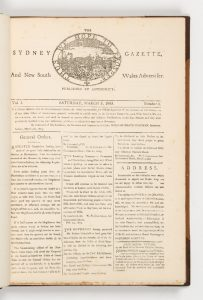 The Sydney Gazette and New South Wales Advertiser (facsimile edition limited to 100 copies, 1899)