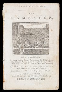 [BOTANY BAY]. The Gamester. The story of poor Tricket the Gamester.