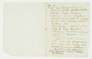 "Autograph manuscript note by Bougainville on the ""savages"" of North AmericaBOUGAINVILLE, Louis-Antoine, Comte de (1729-1811)# 13775"