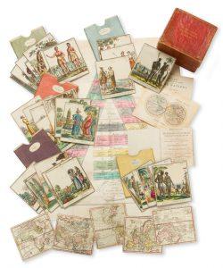 Jeu de voyage des cinq parties du mondeKLINGER, Johann Georg; MULLER, Johann Wolfgang# 13747