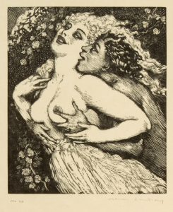 Fauns and Ladies (Margaret Coen's copy)LINDSAY, Jack (1900-1990)# 13659