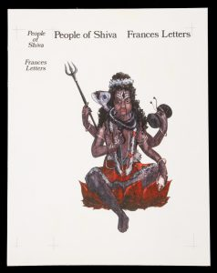 Original cover art for 'People of Shiva' by Frances Letters[LETTERS, Francis]# 13851