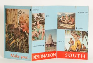 """Make your destination South Pacific""