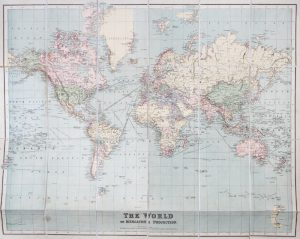 Philips' authentic map of the world on Mercator's projection.PHILIP, George# 13764