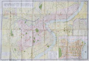 New map of ShanghaiLANG, Ke (editor); CHENG, Shao (artist)# 13753