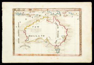 Manuscript map of Australia, 1830-1835Anon.# 13681