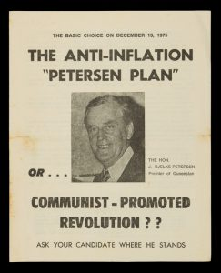 """The anti-inflation """"Petersen Plan"""" or ... communist-promoted revolution?# 13668"""
