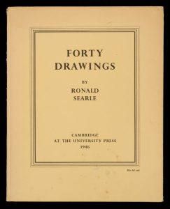 Forty drawings by Ronald SearleSEARLE, Ronald# 13656