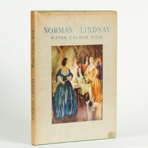 Norman Lindsay water colour book.