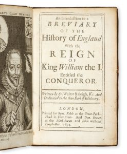 An introduction to a breviary of the history of England with the reign of King William the I.,